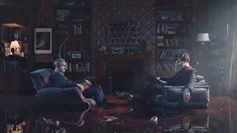 Тизер четвертого сезона «Шерлока». Видео