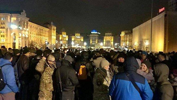 Акция Добровольческого движения ОУН в Киеве