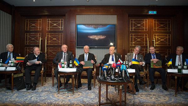 Первый Балтийско-Черноморский форум в Киеве