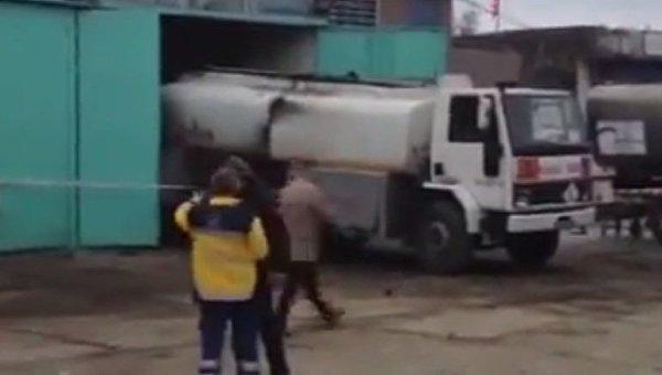 Взрыв на танкере произошел в районе Стамбула, есть раненые