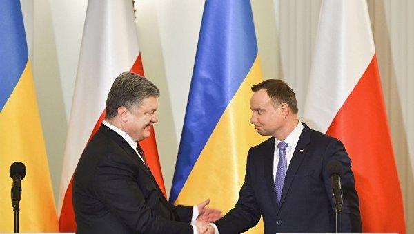 Pr-служба президента Польши назвала Порошенко «Виктором»
