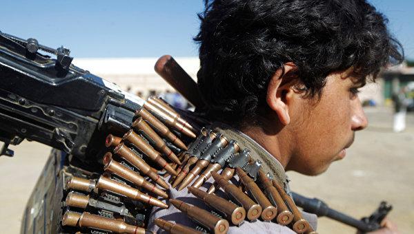 Повстанец в Йемене. Архивное фото