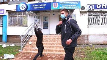 """В Одессе закидали яйцами приемную депутата от """"Оппоблока"""""""
