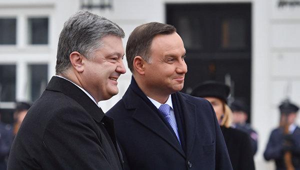 Визит президента Украины Петра Порошенко в Польшу