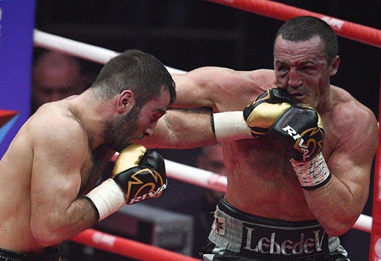 Бой между Лебедевым и Гассиевым