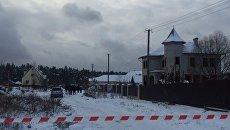 Смертельная перестрелка в Княжичах под Киевом. Место ЧП