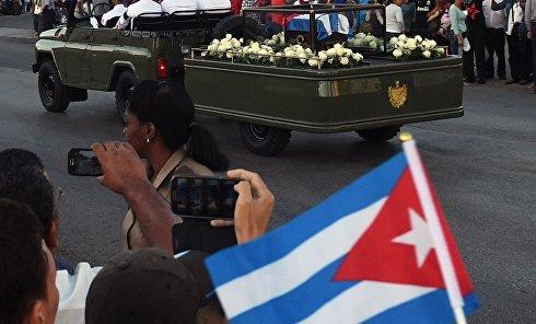 Похороны Фиделя Кастро