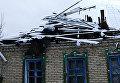 Последствия обстрелов Горловки в Донецкой области