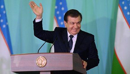Шавкат Мирзиеев, победивший на выборах президента Узбекистана