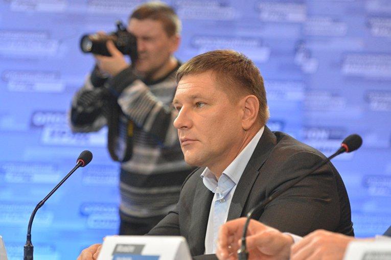 Министр внутренних дел и чрезвычайных ситуаций теневого правительства Константин Стогний