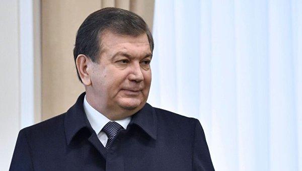 Победитель президентских выборов в Узбекистане Шавкат Мирзиеев