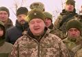 Поздравление Порошенко по случаю 25-летия ВСУ. Видео