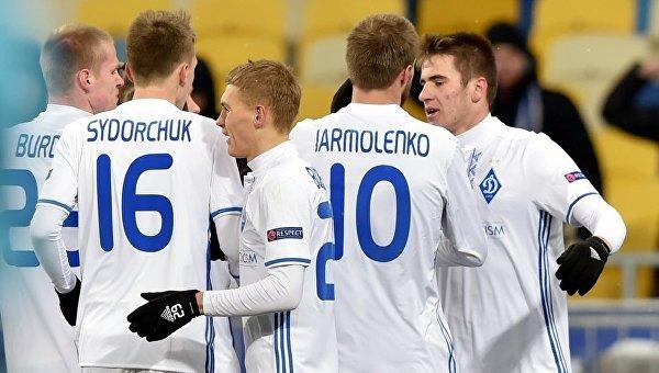 Игроки ФК Динамо (Киев). Архивное фото
