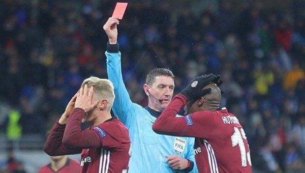 УЕФА оштрафовал «Динамо» и«Бешикташ» заповедение болельщиков вКиеве