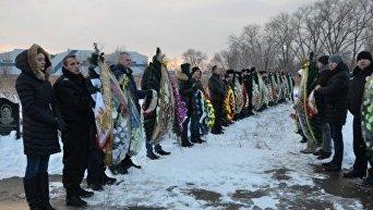 Похороны погибших в Княжичах правоохранителей