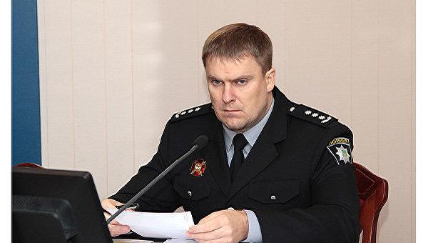 Врио главы Национальной полиции Вадим Троян