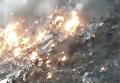 Авиакатастрофа в Пакистане: первые кадры с места ЧП. Видео