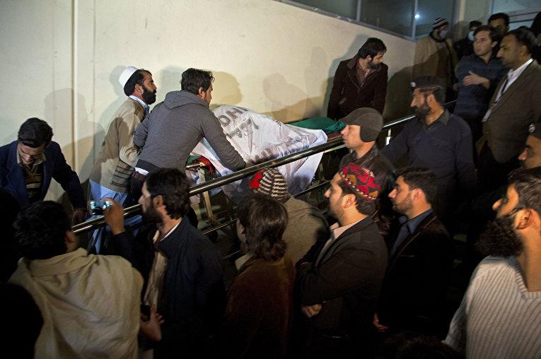 Падение самолета в Пакистане