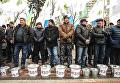 Митинг аграриев под Радой в поддержку законопроекта №4355 8 декабря 2016 года
