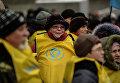 Федерация профсоюзов Украины проводит митинг у Рады с требованием снизить тарифы ЖКХ