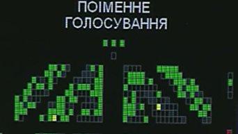 Голосование Верховной Рады по лишению Вадима Новинского депутсткой неприкосновенности