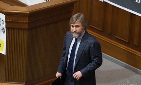 Вадим Новинский в Верховной Раде.