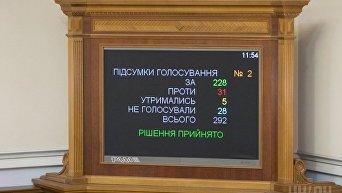 Рада дала согласие на привлечение Вадима Новинского к уголовной ответственности
