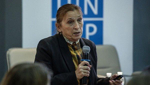 Глава правления Фонда Демократические инициативы Ирина Бекешкина