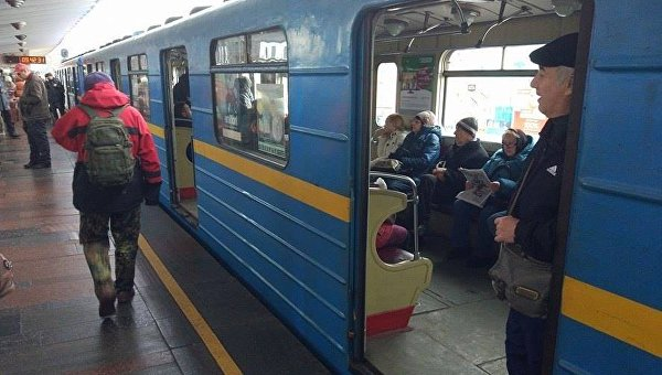 Ситуация в киевском метрополитене 9 декабря 2016 года