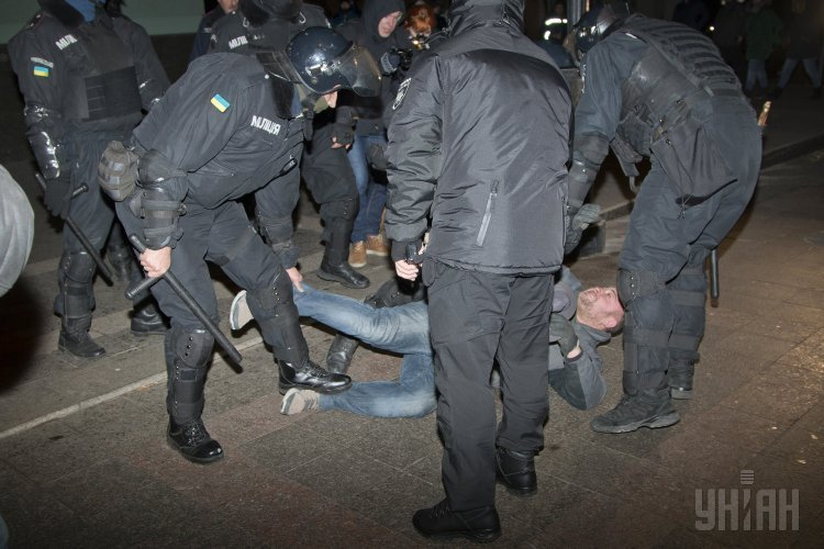 Марш фанатов Манчестер Юнайтед в Одессе
