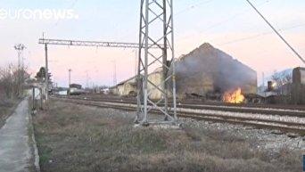 В Болгарии взорвался поезд с сжиженным газом