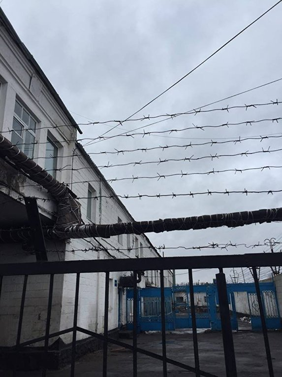 Визит Луценко в Райковскую исправительную колонию