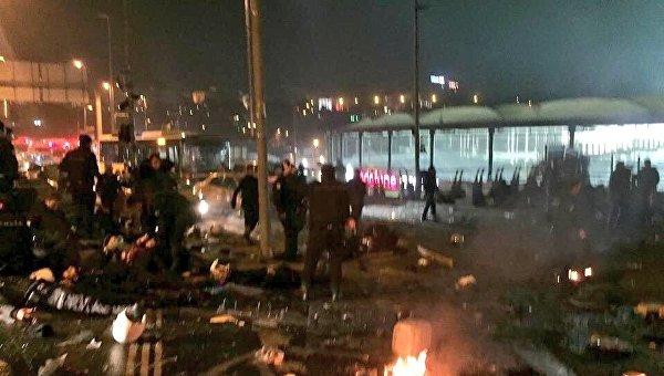 Вцентре Стамбула произошел взрыв: неменее 15 человек погибли