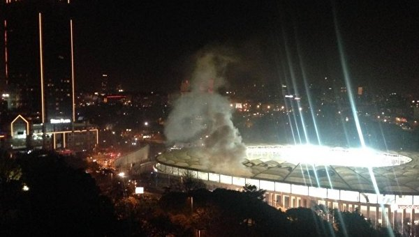 Теракт у стадиона в Стамбуле