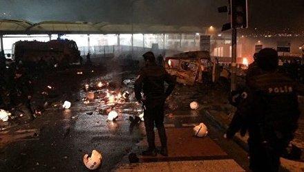 Теракт возле стадиона в центре Стамбула