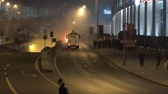 На месте теракта в Стамбуле. Видео