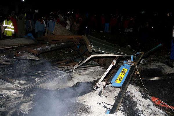 Авария с участием нефтяной автоцистерны в Кении
