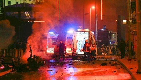 Теракт возле стадиона в Стамбуле 10 декабря 2016 года