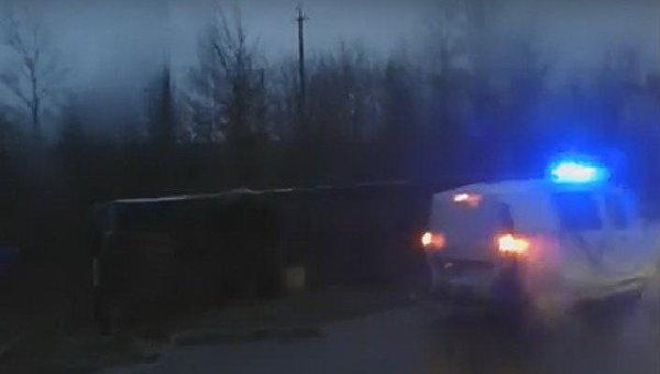 ВоЛьвовской области перевернулся туристический автобус сбелорусами