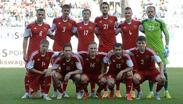 Игроки сборной Белоруссии