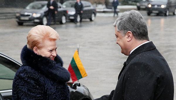 Грибаускайте: ВЕС договорились опродлении санкций противРФ