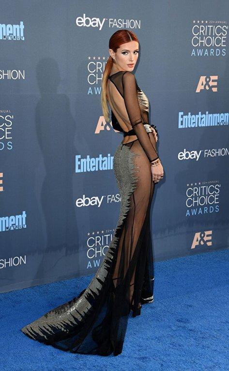Белла Торн на вручении премии Critics Choice
