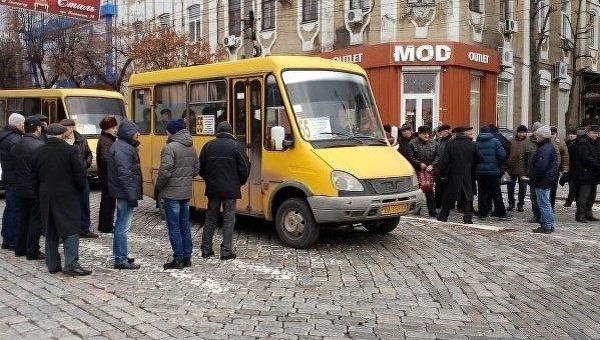 ВКропивницком пожилые люди МВД заблокировали несколько перекрестков