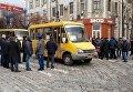 В Кропивницком пенсионеры МВД перекрыли центральную улицу