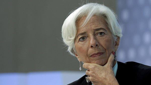 Руководитель МВФ поведала, как помогает Украине стать наноги