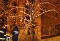 Спасательные работы на месте обрушения общежития в Чернигове. Видео