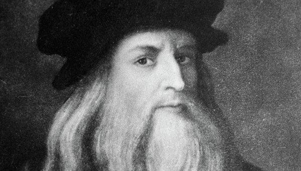 Автопортрет Леонардо да Винчи, репродукция