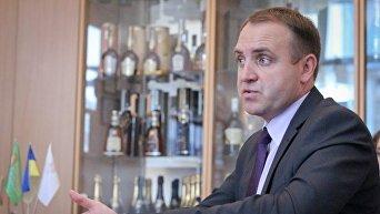 Генеральный директор украинской корпорации по виноградарству и винодельческой промышленности Укрвинпром Владимир Кучеренко.