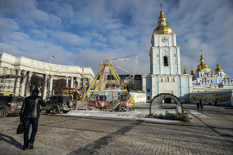 Киев готовится к Новому году