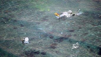 У берегов Японии упал конвертоплан американских морпехов